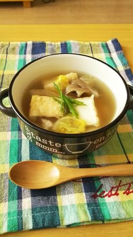 超簡単❤ぽかぽか❤具沢山スープ★糖質オフ