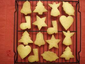 クリスマス型抜きクッキー