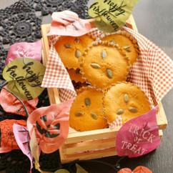 かぼちゃの黒糖マドレーヌ