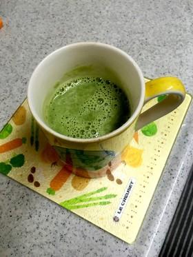 甘酒抹茶豆乳ラテ