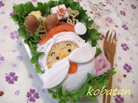 2007♪クリスマスのお弁当(キャラ弁)