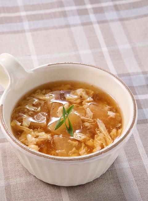 大根のかき玉スープ