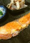 簡単!朝食、お弁当◎鮭の生姜塩バター焼き