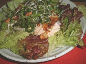 ★豆腐×にんにく×サニーレタスのサラダ★