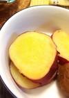 自然の甘み。さつまいもと梅の甘煮