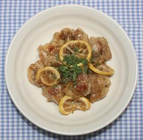 ガッツリ系男の料理☆鶏肉のドライレモン煮