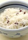 小豆玄米ごはん