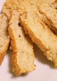 赤ちゃんの♡バナナおから米粉ケーキ