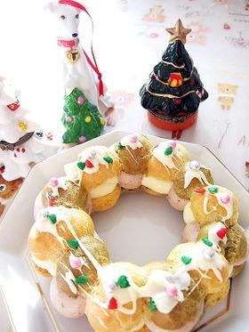 シュー☆クリスマスリース
