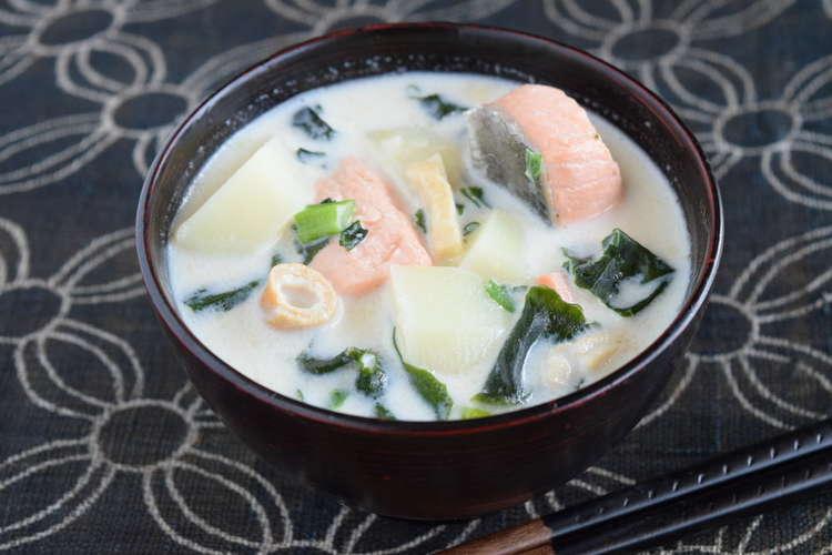 鮭 味噌汁