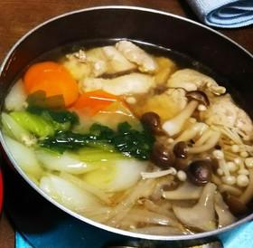 【冬】鶏塩鍋
