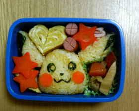 ピカチュウ弁当2 (ポケモンキャラ弁)