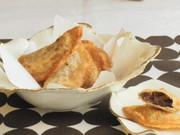 ラ・フランスとチョコのパイの写真