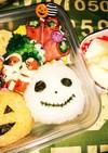 ハロウィンお弁当 ピックも手作り♪