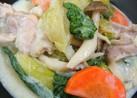 ★鶏肉とチンゲン菜のクリーム煮★