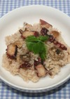 簡単ガッツリ系男の料理★干しタコでタコ飯
