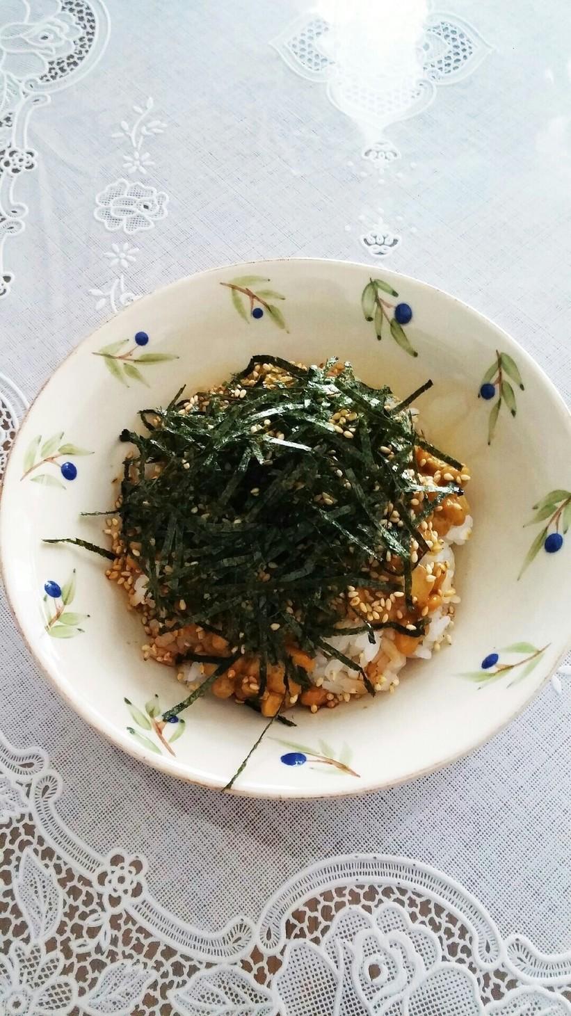 私のお気に入り☆納豆ご飯にチョイ足し!