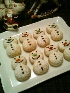 クリスマスに♡可愛いスノーマンボール