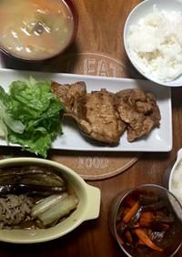タモリ風生姜焼き