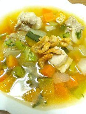 チキン&野菜スープ