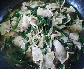 もやしと豚肉の炒め煮