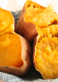 甘〜い蜜としっとりほっこり安納芋で焼き芋