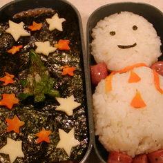 キラキラ☆の楽しいクリスマス弁当