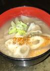 白菜と舞茸のとろり蓮根汁