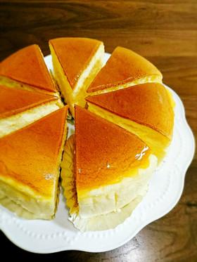 ふわっ☆しゅわっ☆スフレチーズケーキ☆