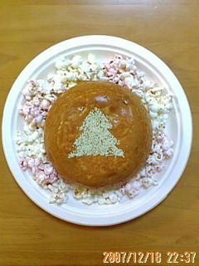 ポップコーンと炊飯器ケーキでクリスマス