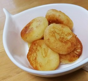 ふわふわ★サツマイモのチーズ団子