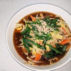 *・゚簡単*・゚野菜たっぷりとろみ麺☆