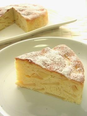 ノンオイル♪りんごのしっとりケーキ