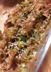 ネギとえのきの味噌炒め〜〜常備菜