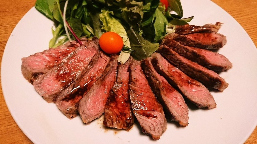 牛肉のタリアータ【イタリアン】
