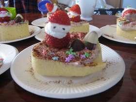 はかり不要★超簡単クリスマスロールケーキ