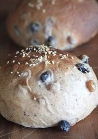 自家製酵母の豆パン