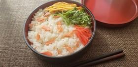 新年明けたら!富山婆ちゃんの鮭ちらし寿司