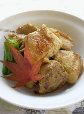 鶏肉のカレーマヨネーズ炒め