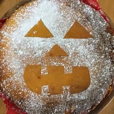 超簡単♡ハロウィン♡かぼちゃチーズケーキ