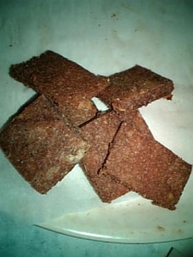 混ぜるだけ♡簡単ココア風味おからクッキー