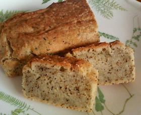 ソルガム粉でヘルシー紅茶パウンドケーキ