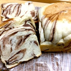 あんこ入りミニ食パン【手捏ねで簡単】1斤