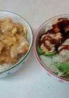 無油カツ丼2種(血管ダイエット1175)