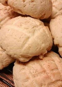 きび砂糖メロンパン♪(チョコチップも!)