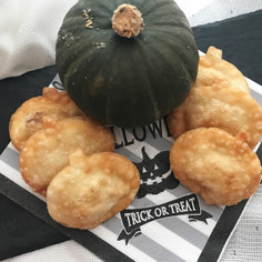 クッキー型で簡単♡可愛い形の揚げ餃子