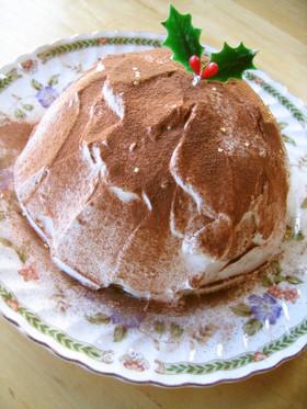ティラミス風ズコット(ドームケーキ)