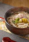 かにと湯葉のあんかけ温麺(うーめん)