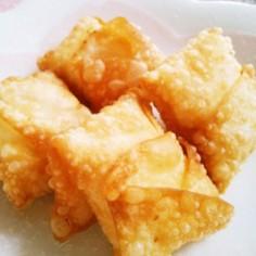 餃子の皮でチーズ焼き♥