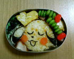 ピカチュウ弁当3 (ポケモンキャラ弁)